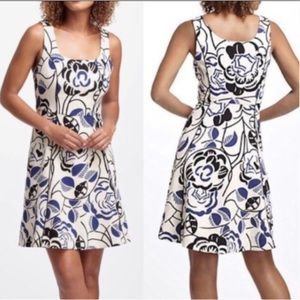 Anthro Vanessa & Virginia Ink Sets Bloom Tea Dress